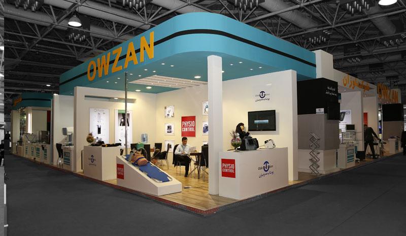بهترین غرفه ها و و طراحی های نمایشگاهی ایران