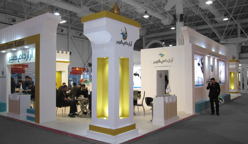 سفارش طراحی غرفه های تمایشگاهی