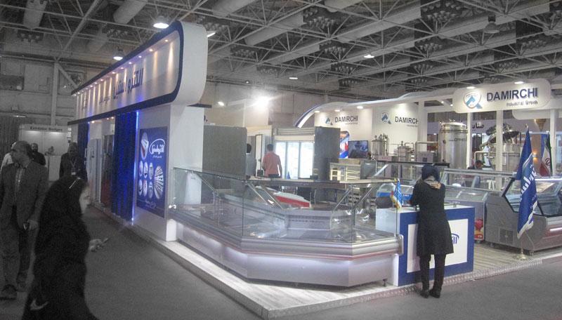 نمایشگاه برق در ایران - غرفه های نمایشگاه برق